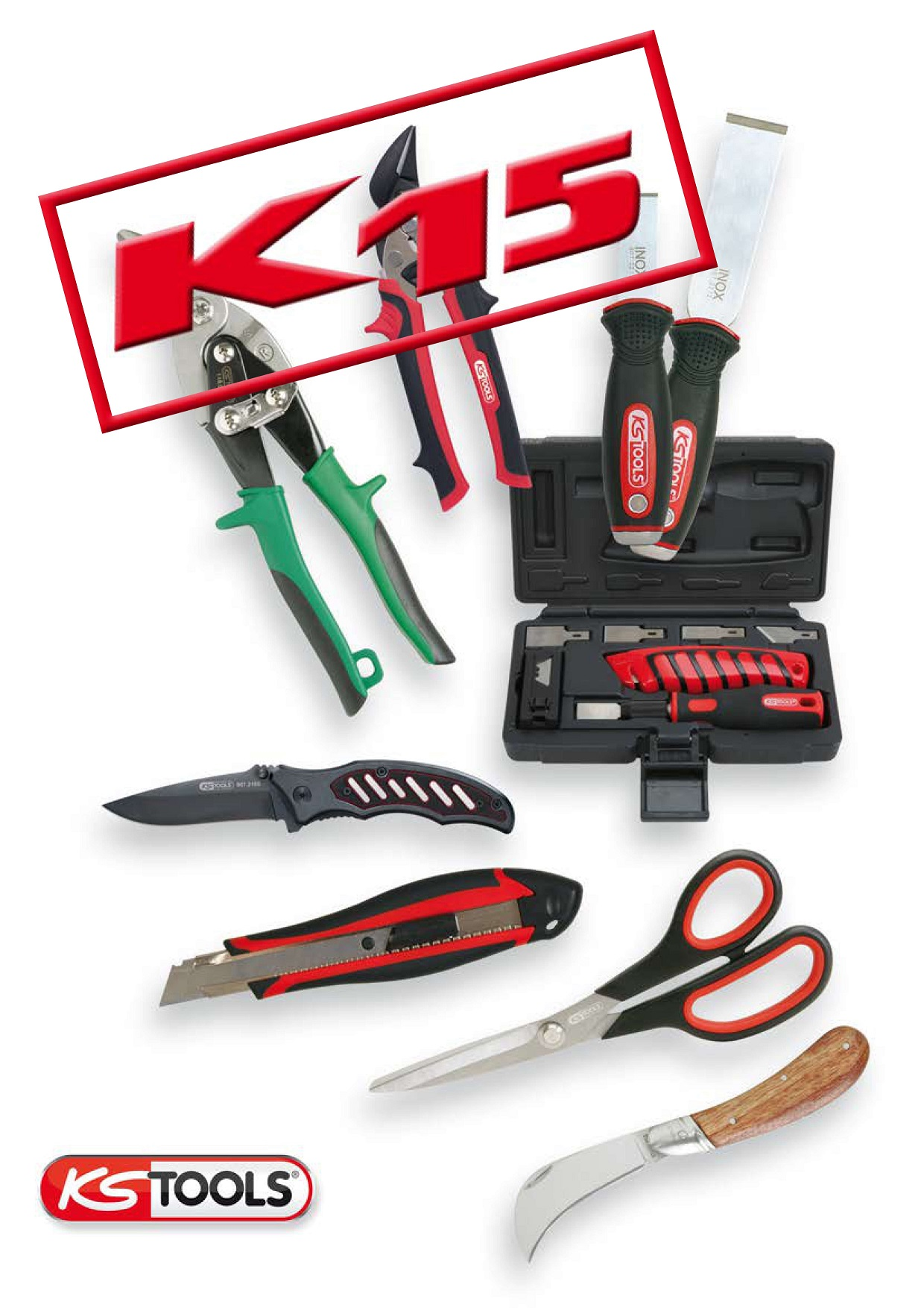 CUTTING- AND SCRAPING TOOLS