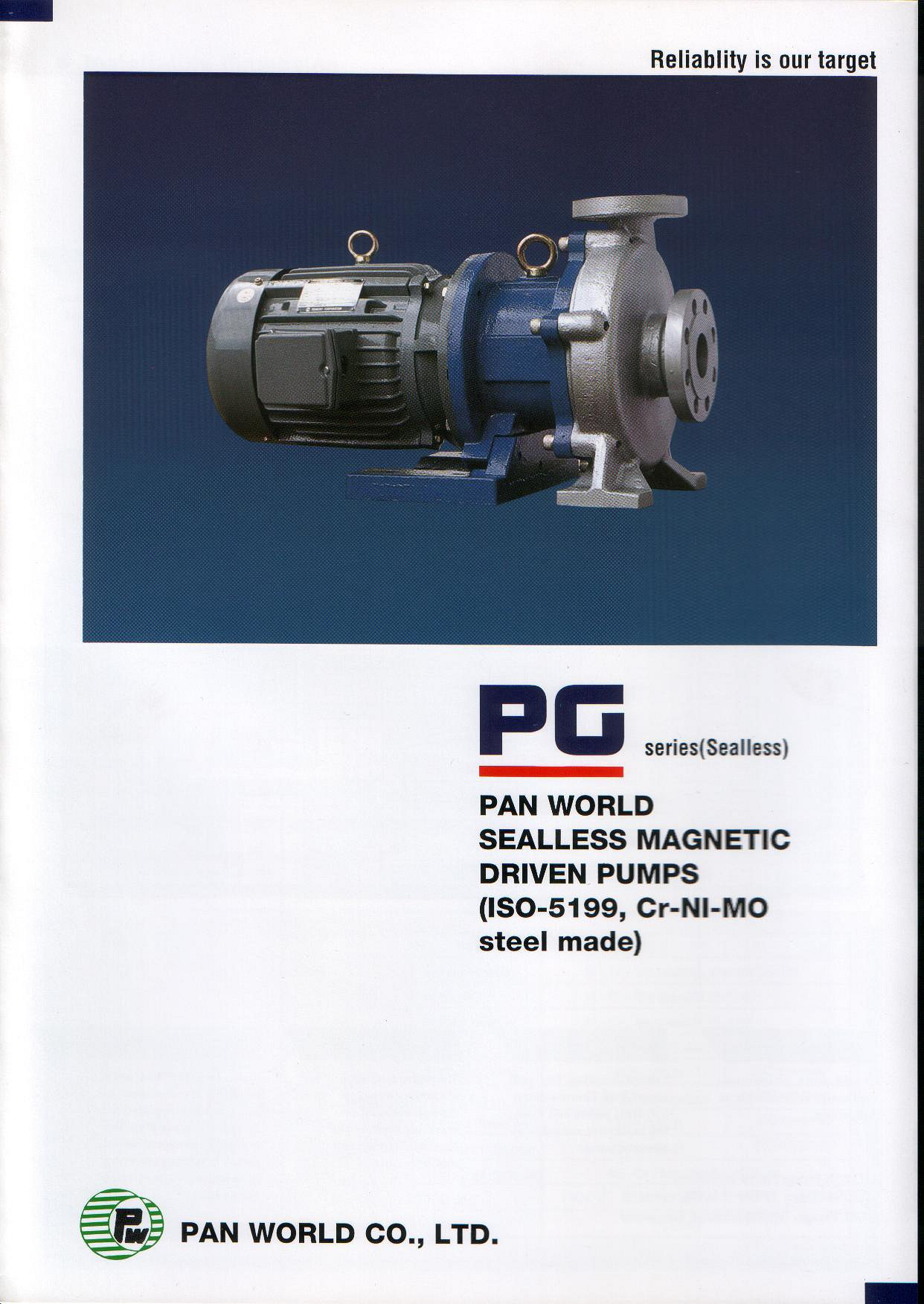 Panworld - PG series