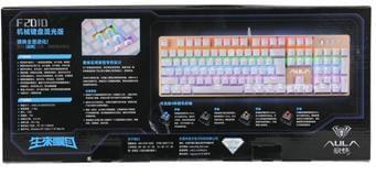 bàn phím giá rẻ| bàn phím xịn| bàn phím rẻ|Bàn phím Cơ Aula F2010 Led 7 màu