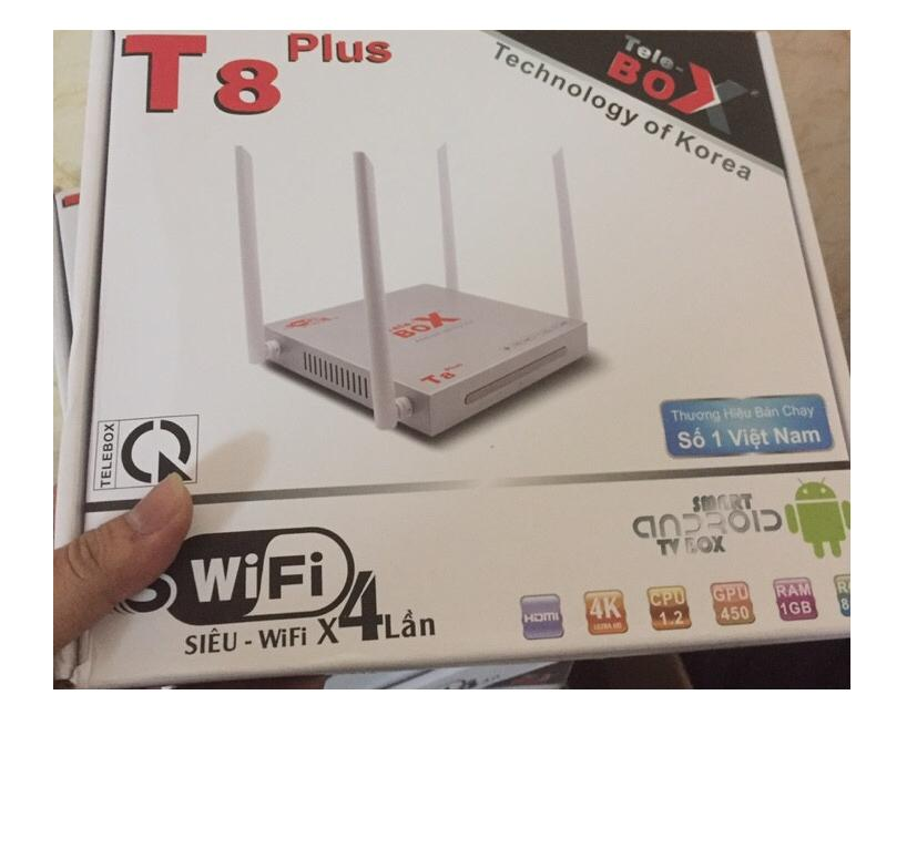Smart android tv box T8 Plus 4 râu