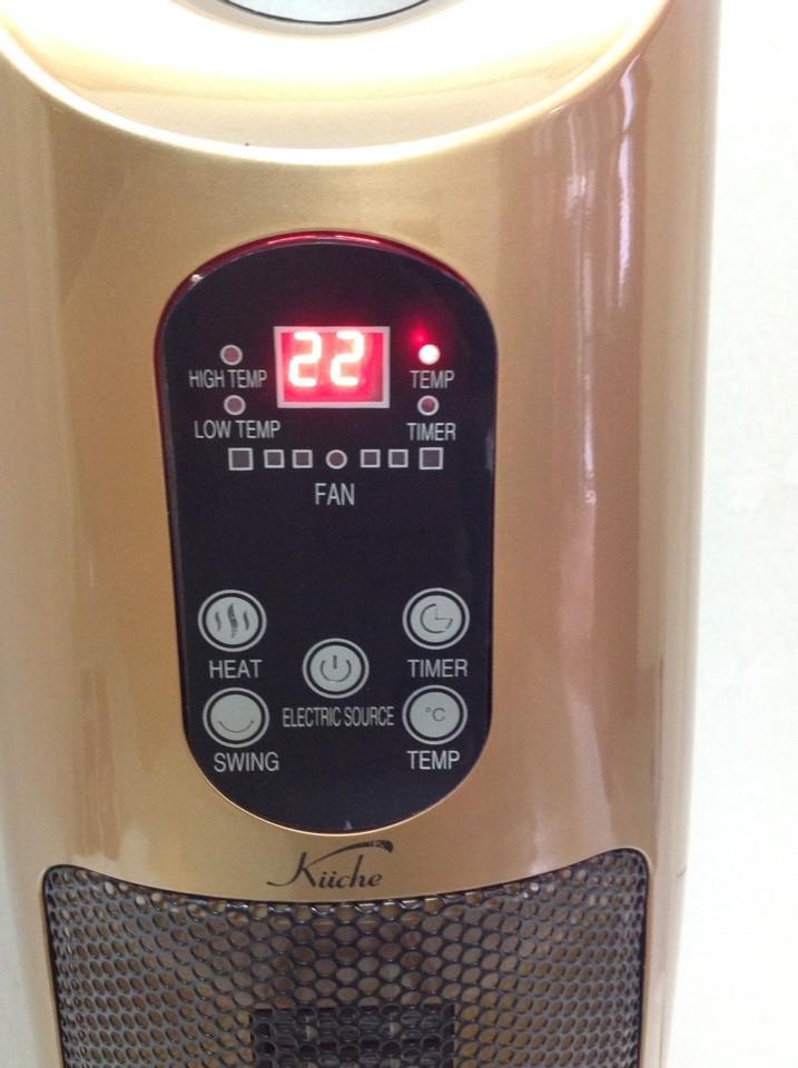 Quạt sưởi ấm KüCHE an toàn cho trẻ sơ sinh, đèn sưởi Halogen Hitachi - 2