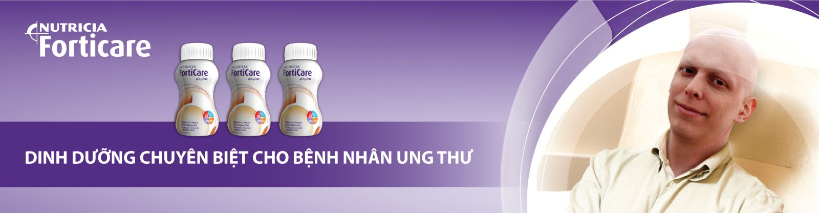 Forticare sữa cho bệnh nhân ung thư của hãng Nutricia Hà Lan