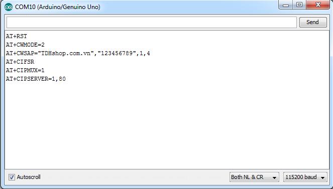 lập trình esp8266 và arduino uno r3