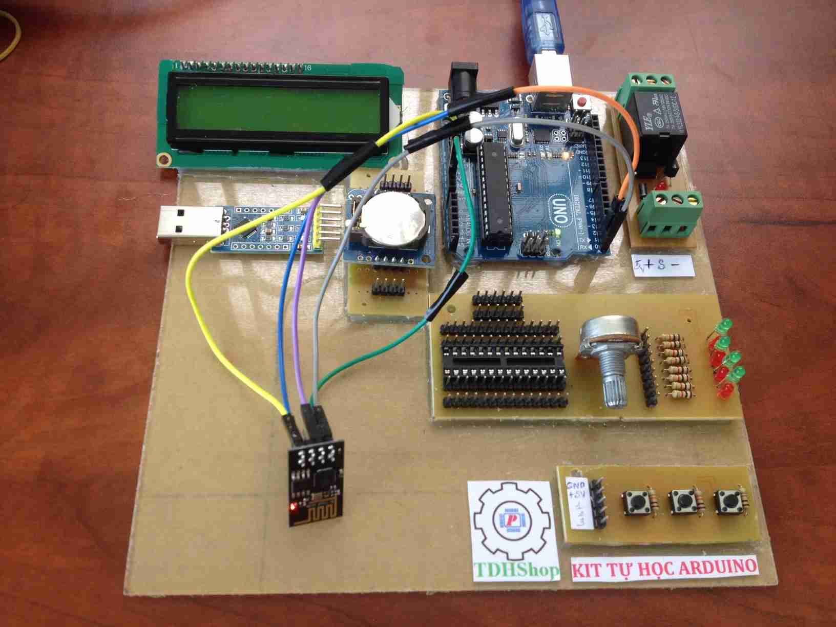 lập trình esp8266 bằng arduino uno r3