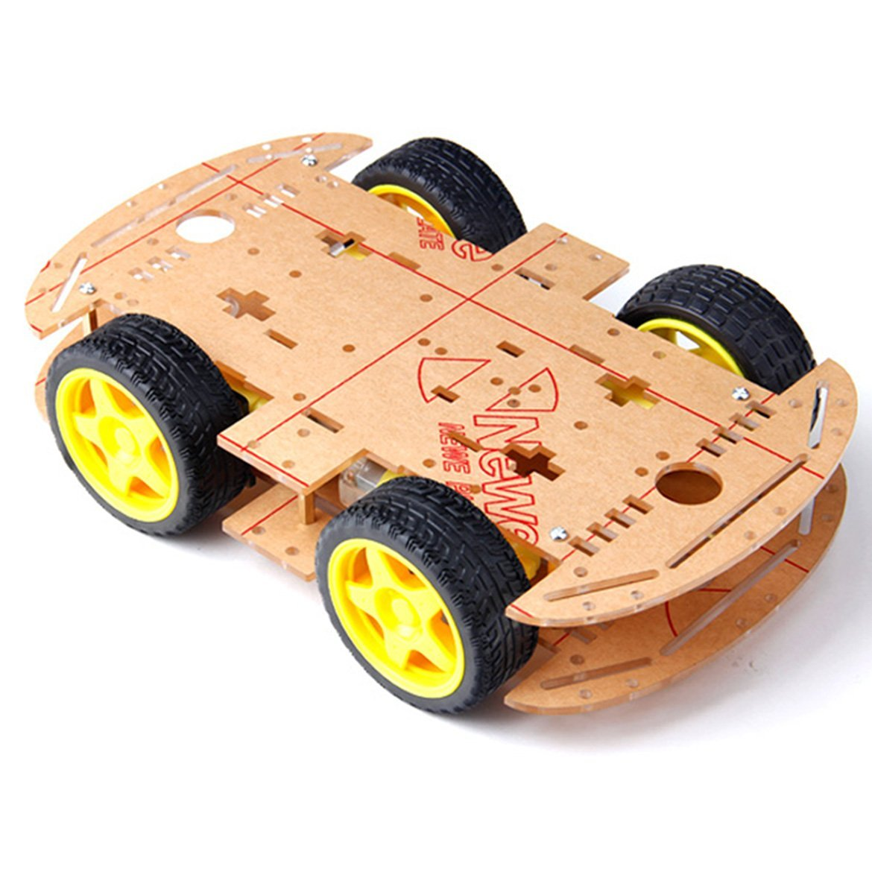 Khung Xe Robot 4 Bánh
