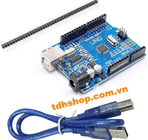 ARDUINO UNO R3 (CH340 driver) chip dán