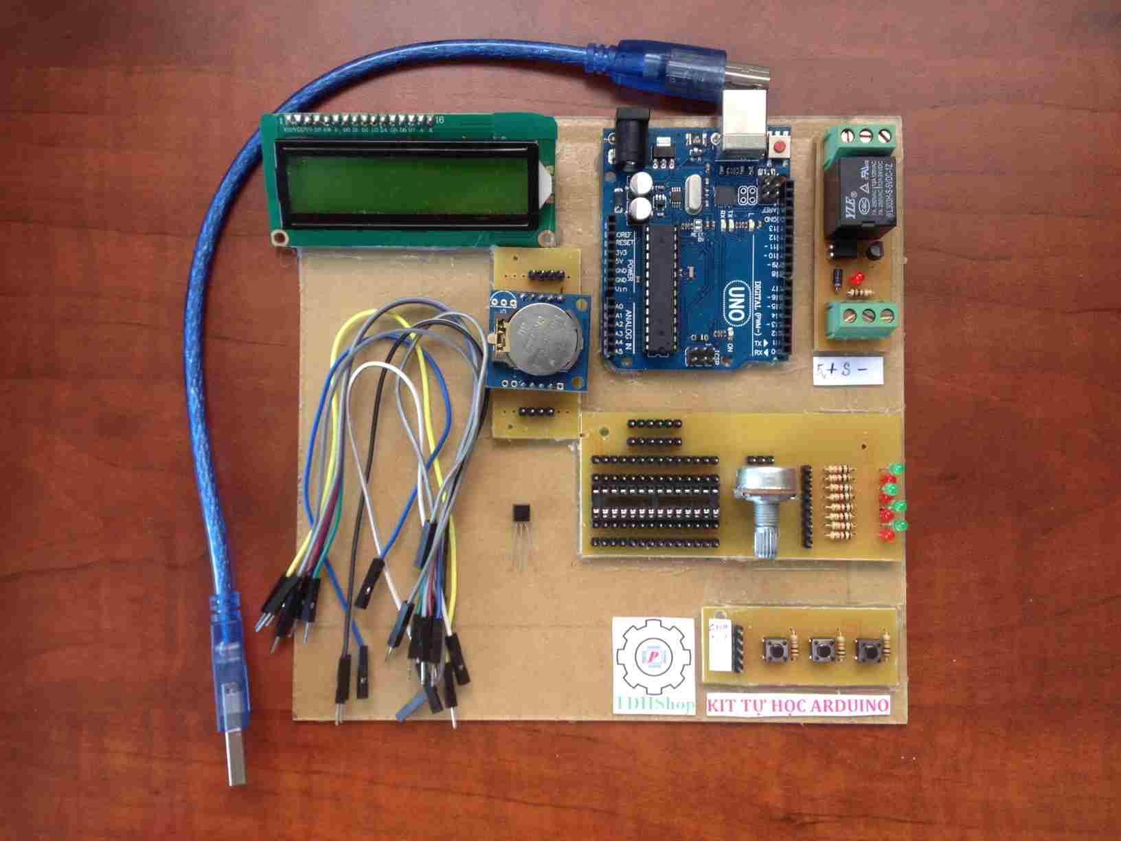 Tự Học Arduino Và Cảm Biến LM35