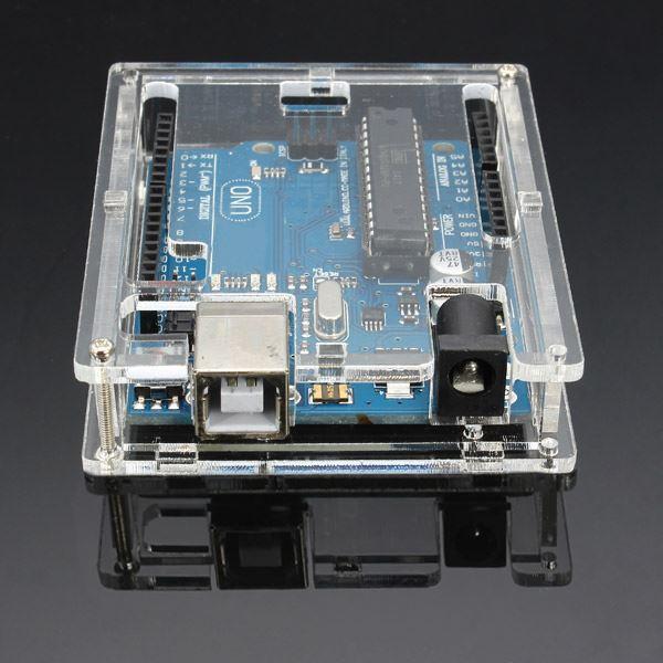 Hộp Mica Arduino Uno R3