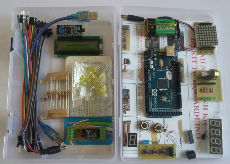 Kit Tự Học Arduino Mega 2560 Cơ Bản