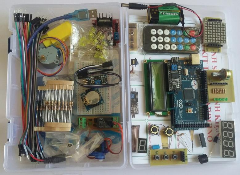 Kit Tự Học Arduino Mêga 2560 Nâng Cao