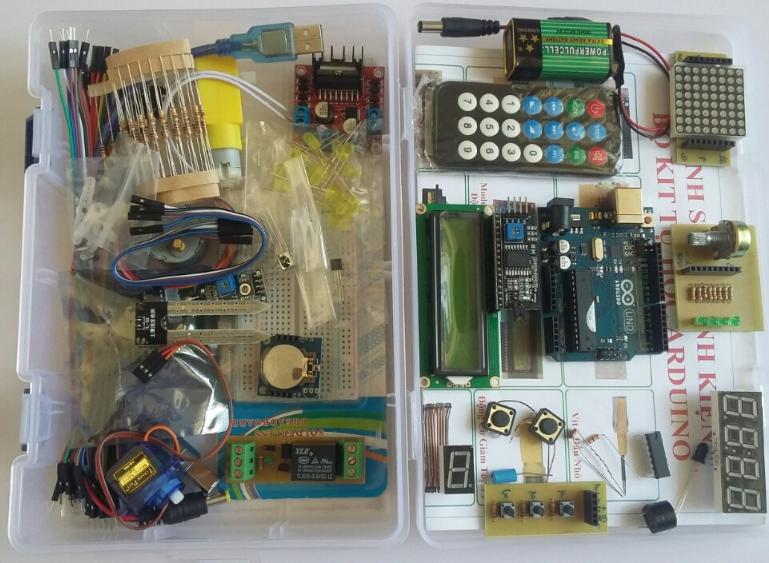 Kit Tự Học Arduino Uno R3 Nâng Cao