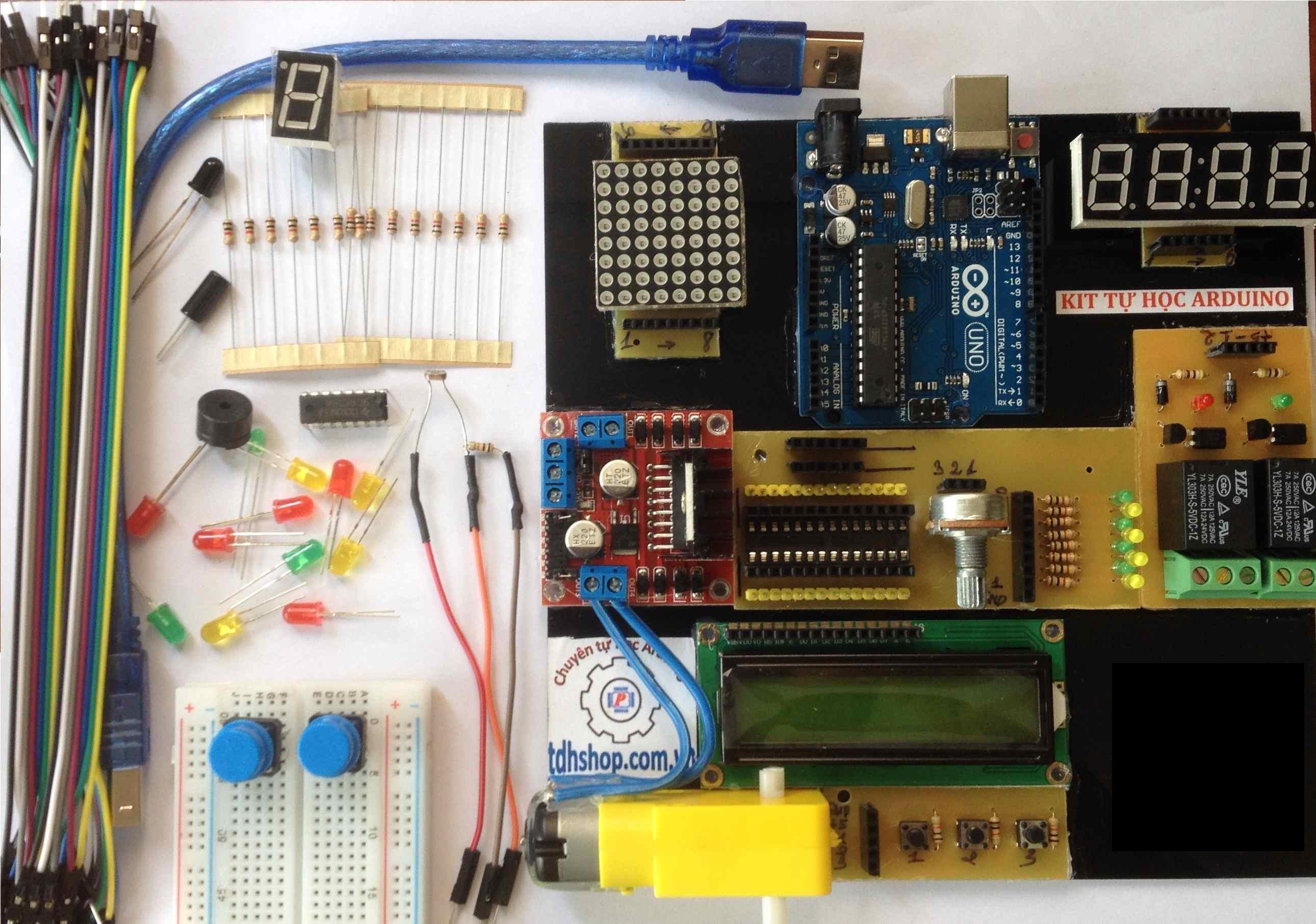 Kit Tự Học Arduino V2