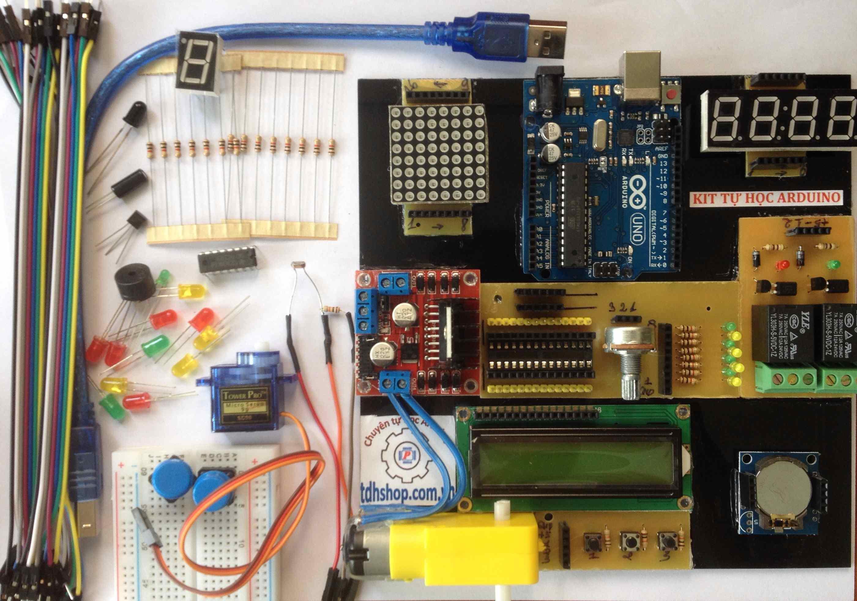 Kit Tự Học Arduino V3
