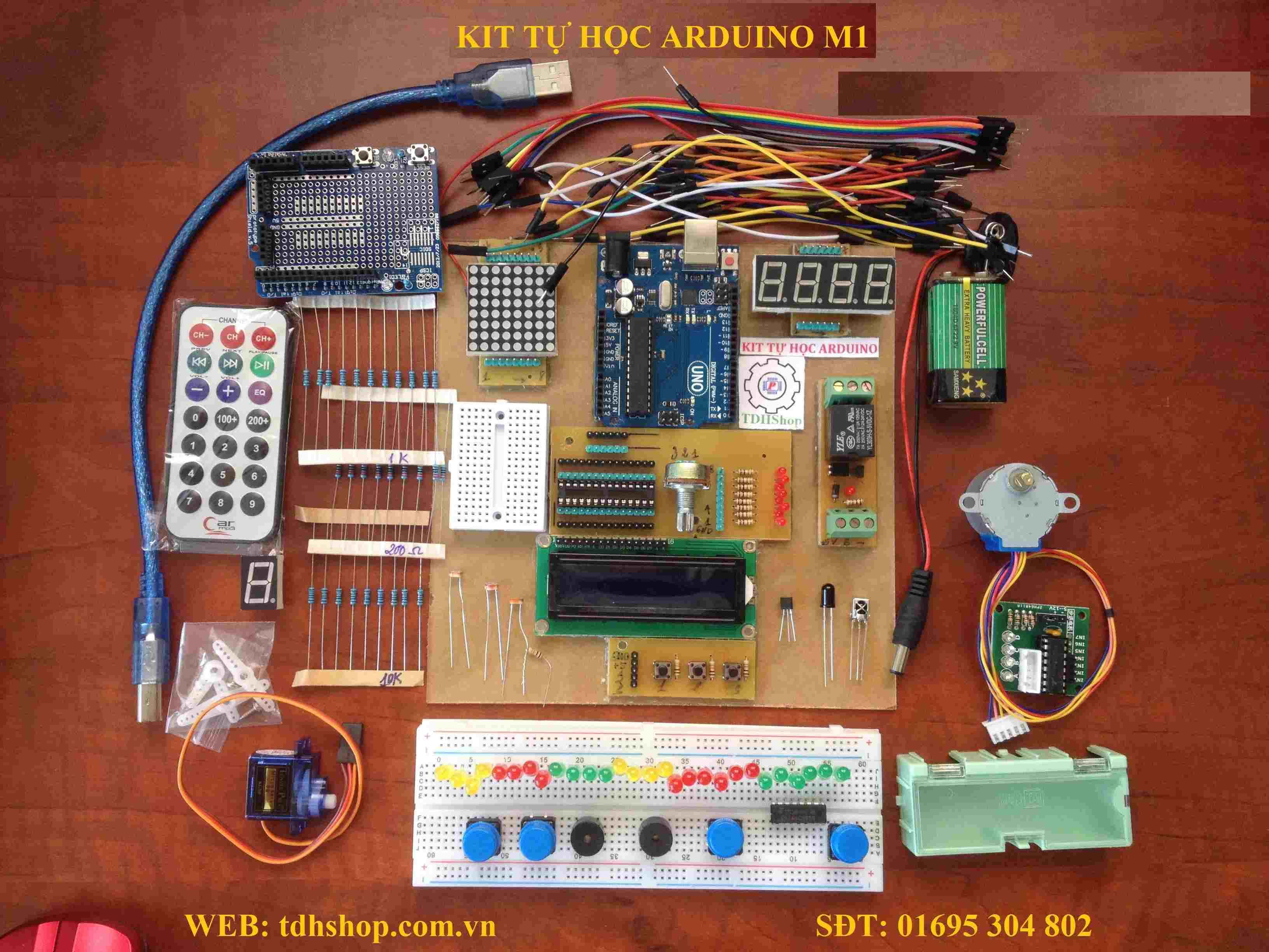 Kit Tự Học Arduino V1.1