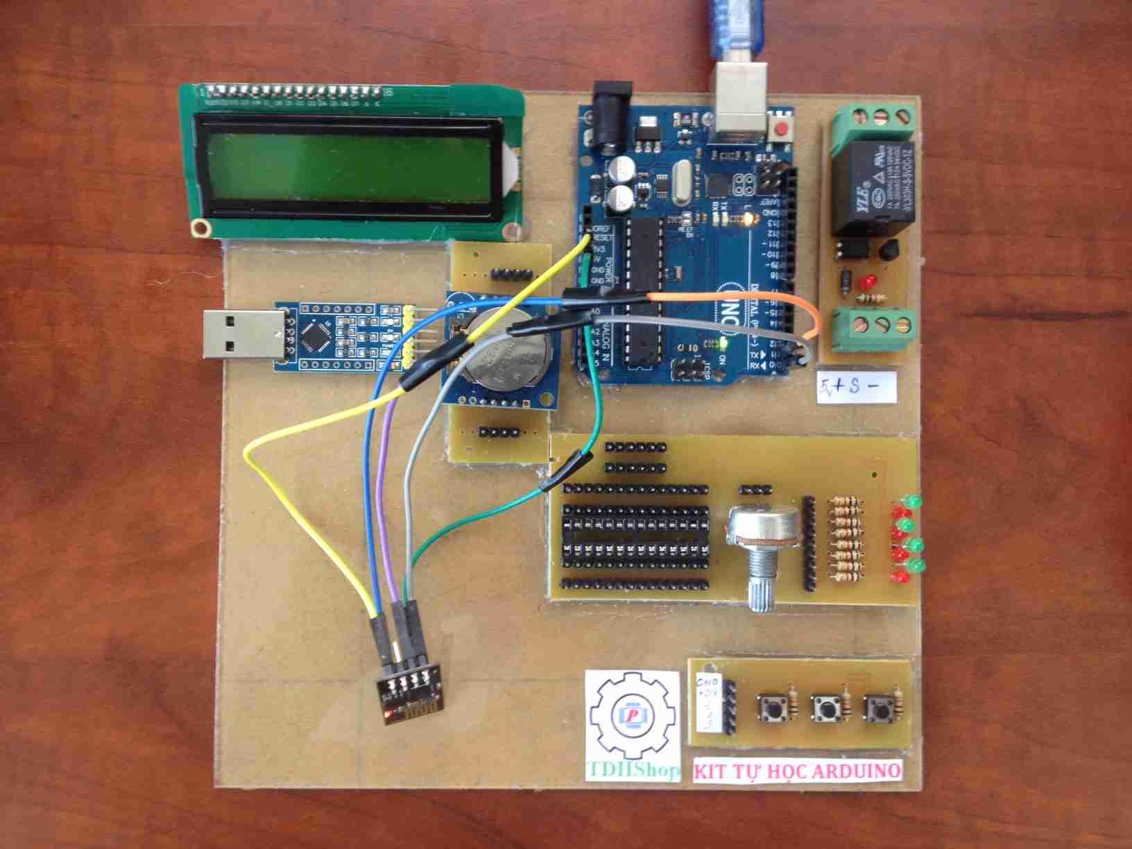 Bộ Tự Học Arduino và ESP8266 Nâng Cao