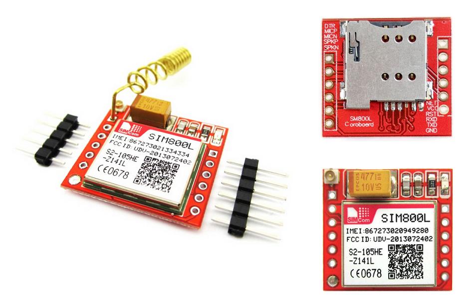 Mạch GSM GPRS Sim800L