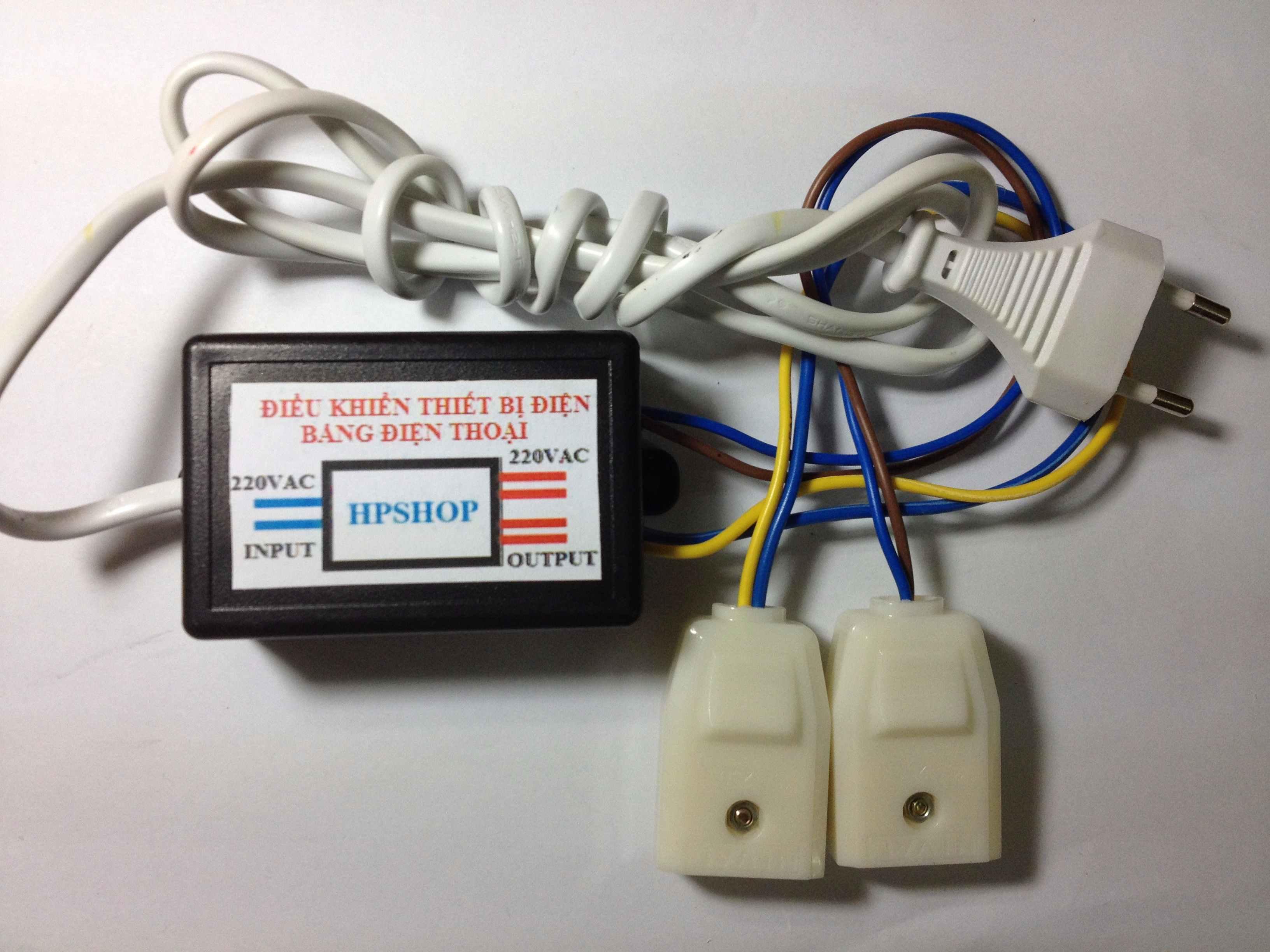 Bộ điều khiển tắt mở thiết bị điện bằng Wifi