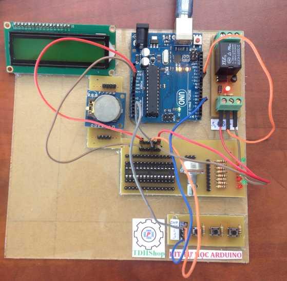 Bộ Tự Học Arduino Điều Khiển Rơle