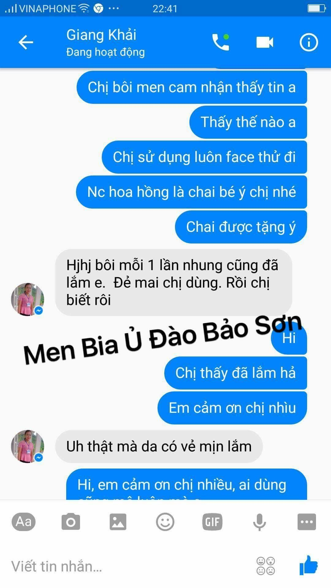 Men bia u dao bao son