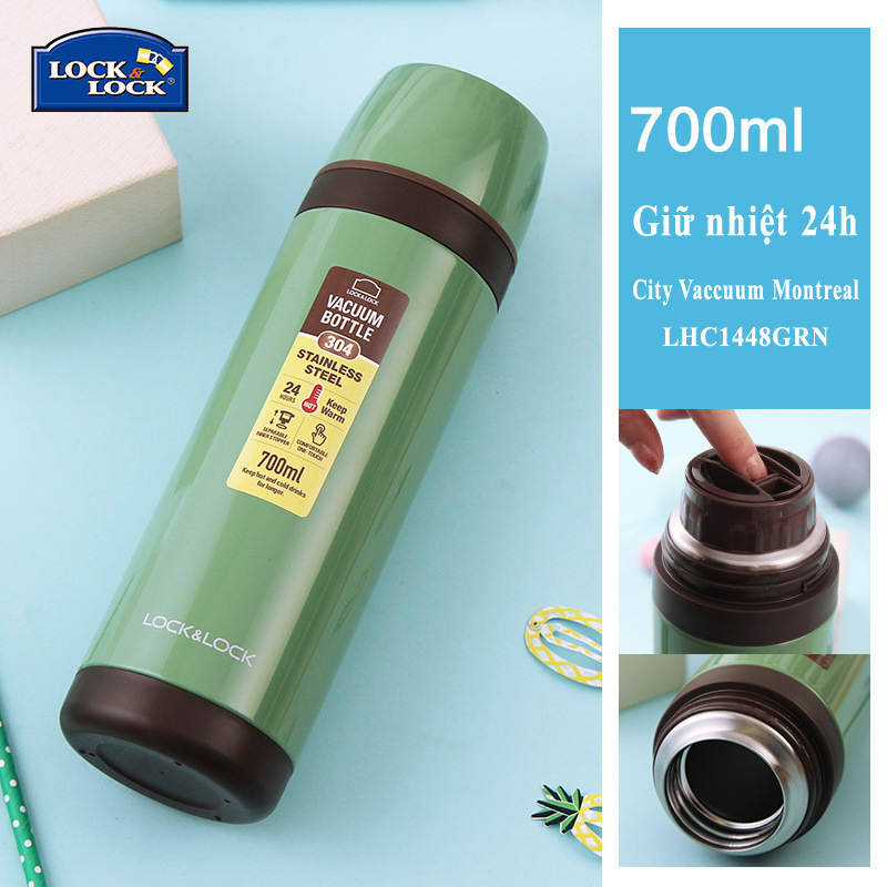 Bình giữ nhiệt Lock&Lock City Vacuum Bottle Olympic Montreal LHC1448