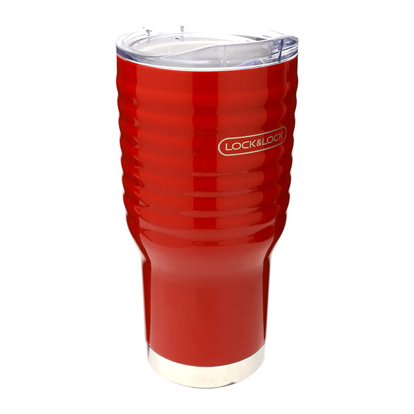 Ly Giữ Nhiệt Lock&Lock Wave Tumbler LHC4148 RED 750ml