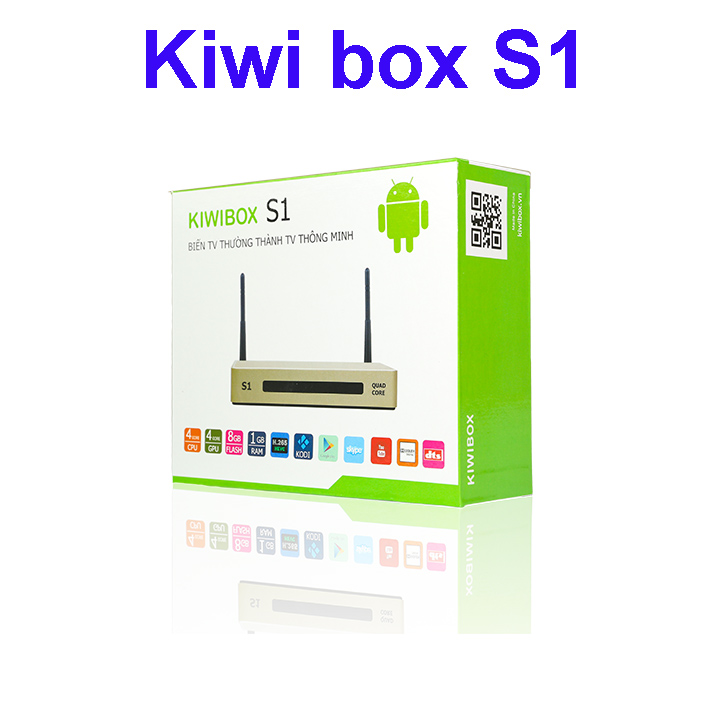 Android tv box kiwi s1