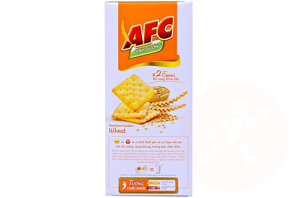 Bánh quy AFC vị lúa mì hộp 100g