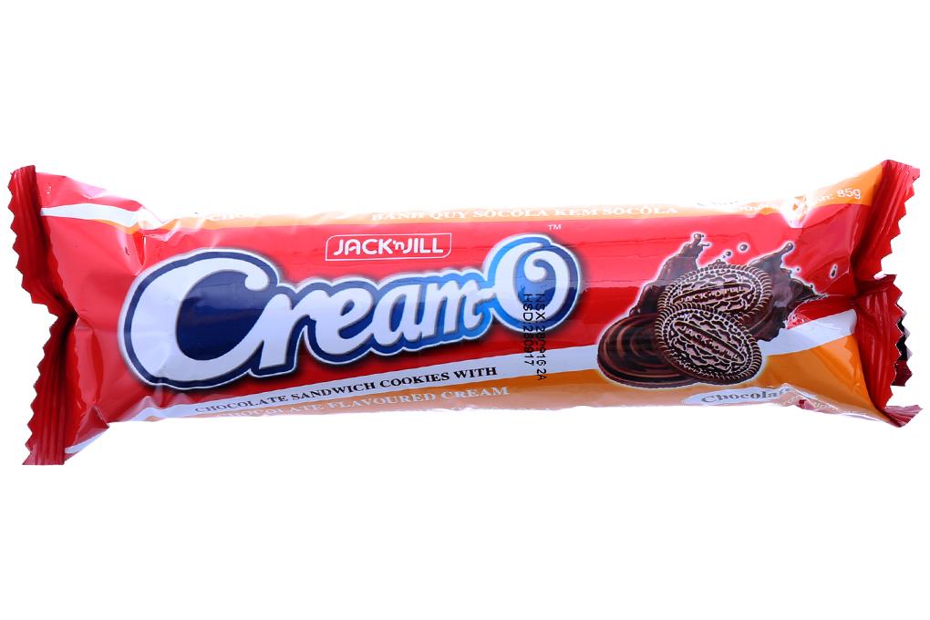 Bánh quy Cream-O sôcôla kem socola thanh 85g