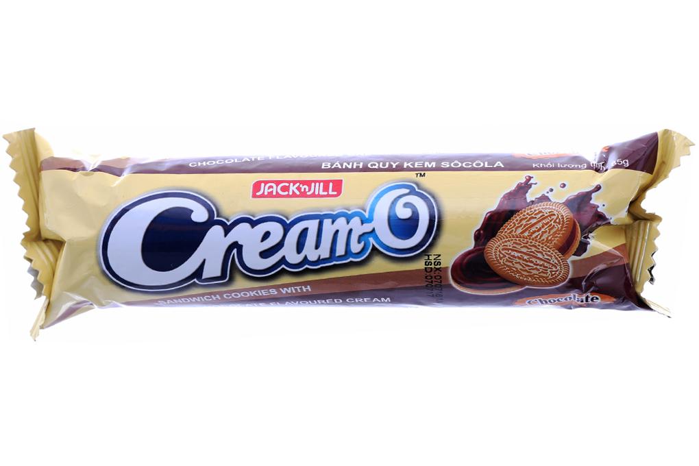 Bánh quy Cream-O vị kem socola thanh 85g