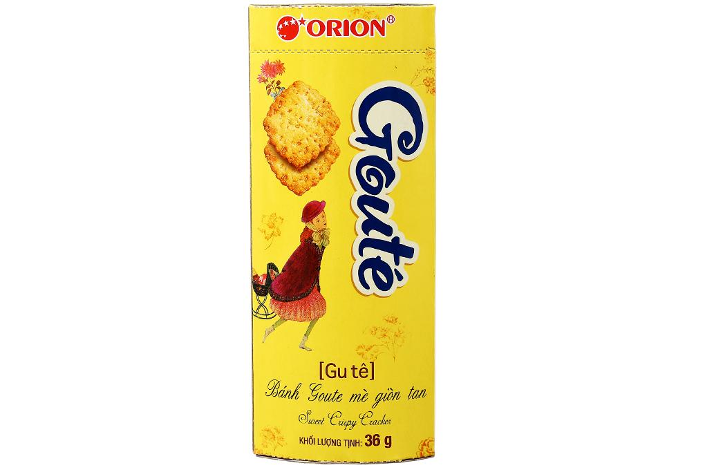 Bánh quy Goute mè hộp 36g