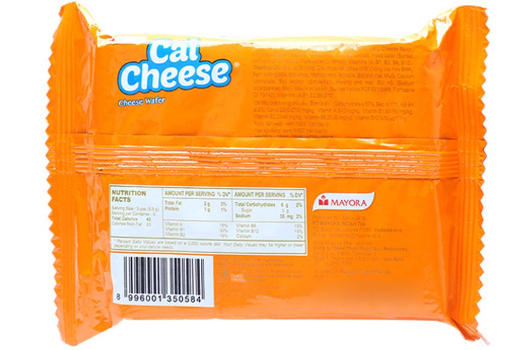 Bánh xốp Phô Mai Cal Cheese gói 53.5g
