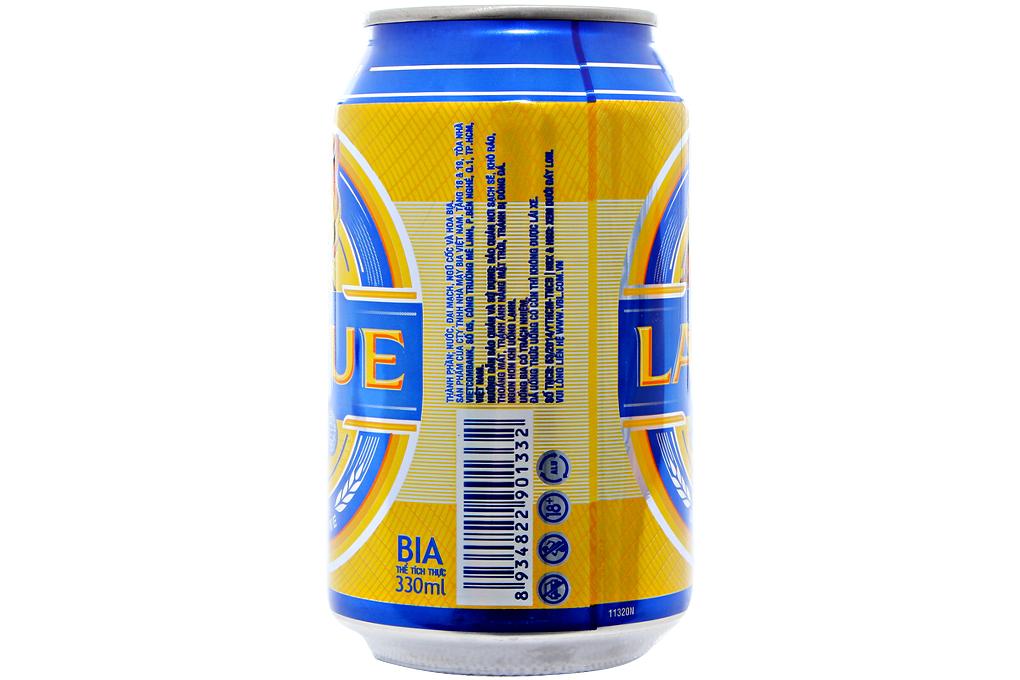 Bia Larue xanh dương lon 330ml