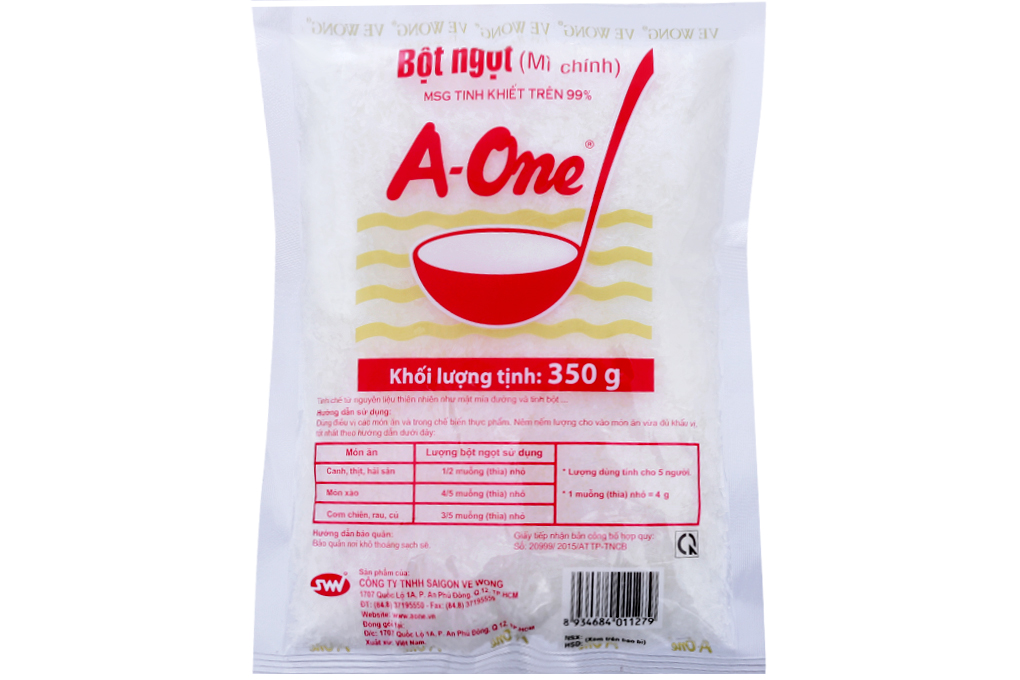 Bột ngọt A-One gói 350g