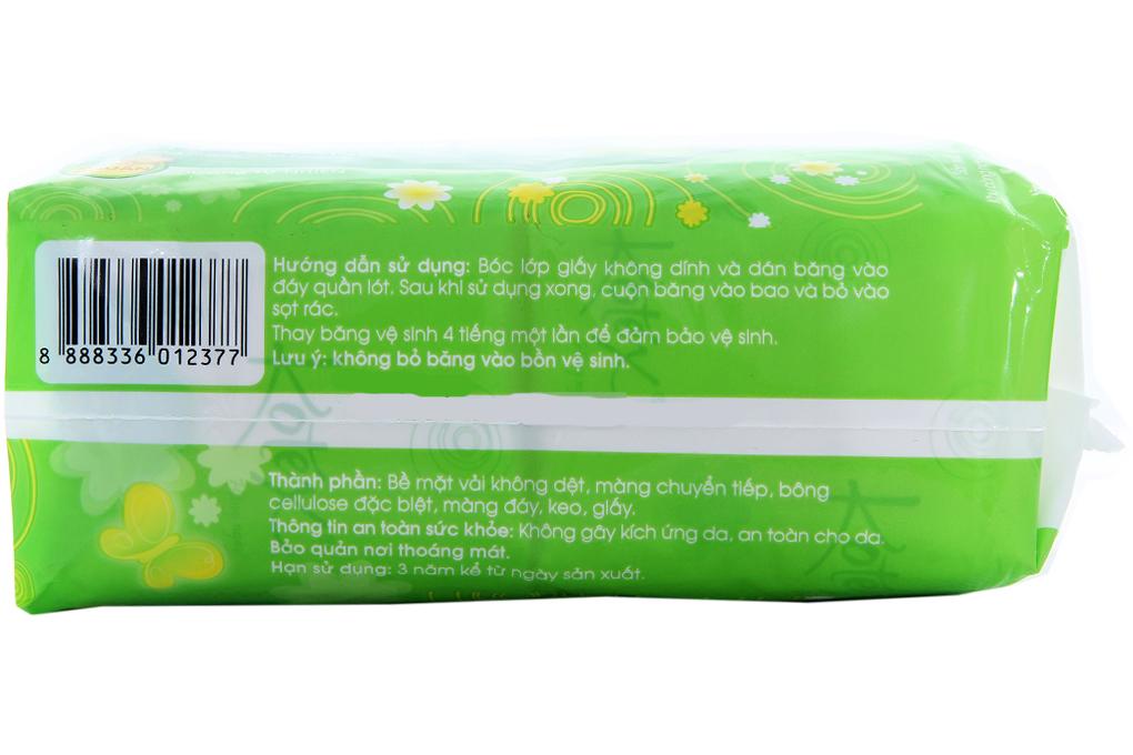 Băng vệ sinh hàng ngày Kotex không cánh kháng khuẩn 40 miếng