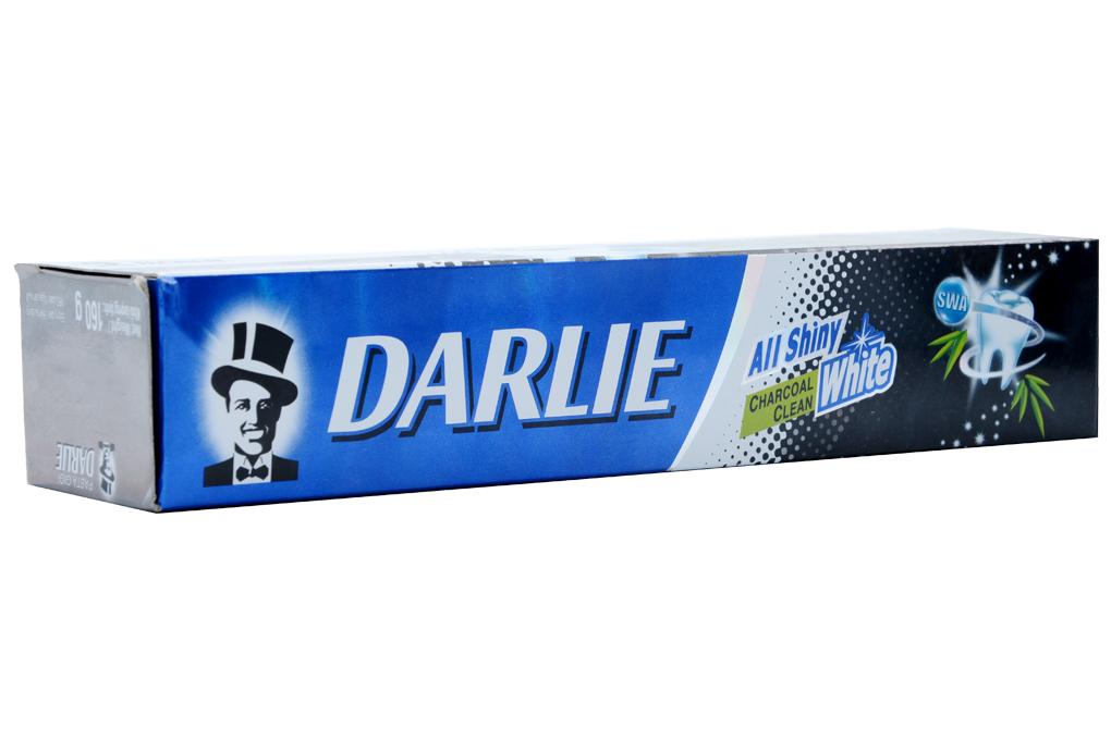 Kem đánh răng Darlie Charcoal trắng sáng hộp 160g