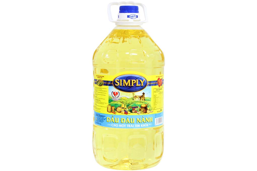 Dầu đậu nành Simply chai 5 lít