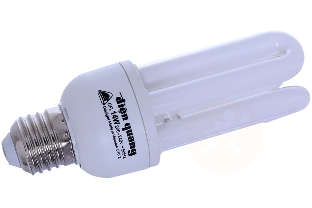 Bóng đèn Compact 3U Điện Quang 14W