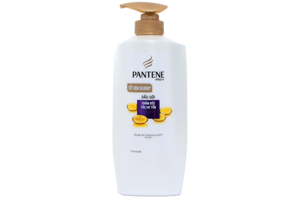 Dầu gội Pantene chăm sóc tóc hư tổn chai 670g