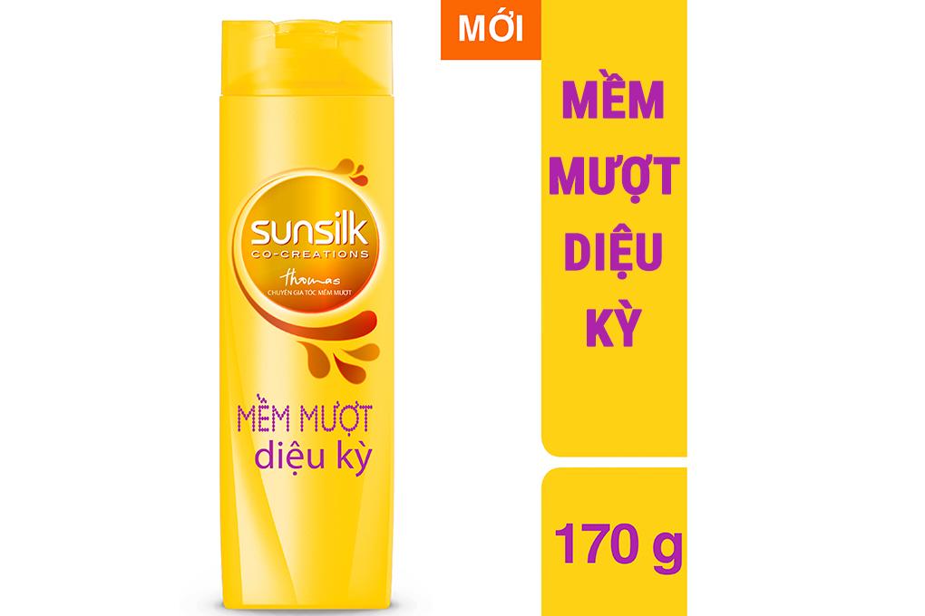 Dầu gội Sunsilk mềm mượt diệu kỳ chai 170g