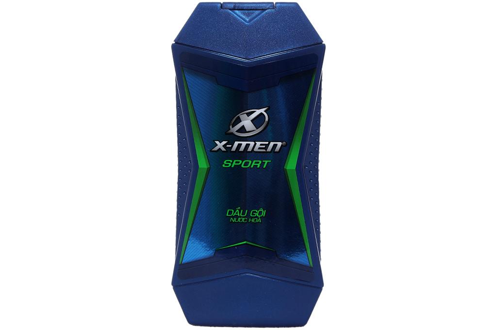 Dầu gội X-Men Sport nước hoa chai 180g