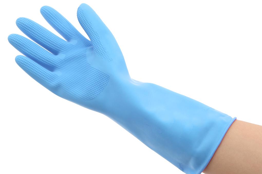 Găng tay cao su cỡ M 32cm Nacol Melody