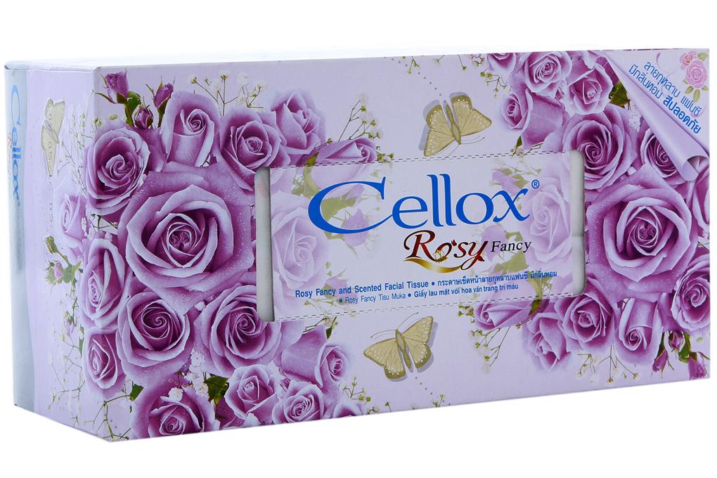 Khăn giấy thơm Cellox hộp 150 tờ 2 lớp