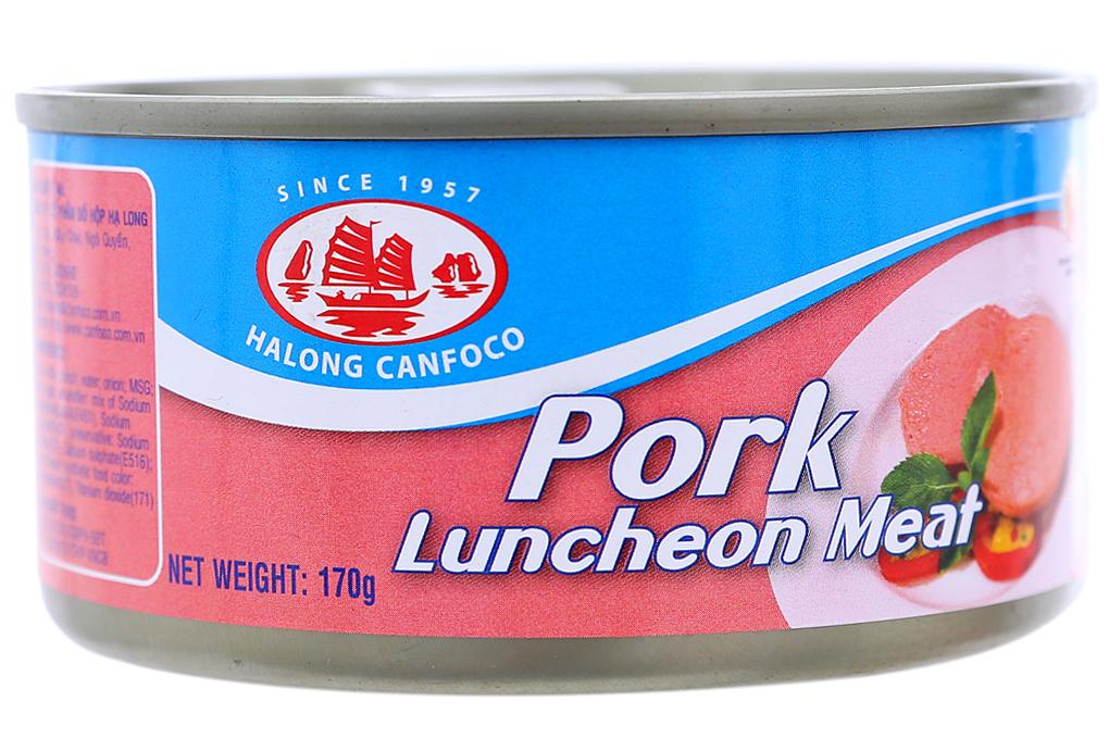 Giò lợn nạc Hạ Long hộp 170g