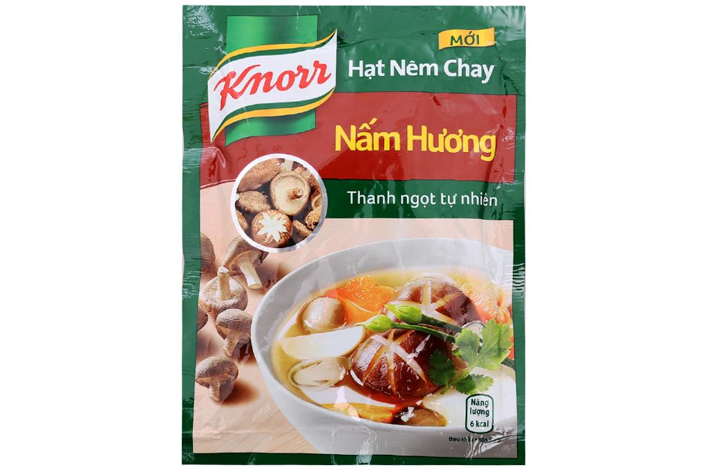 Hạt nêm Knorr 3 nấm ngon gói 50g
