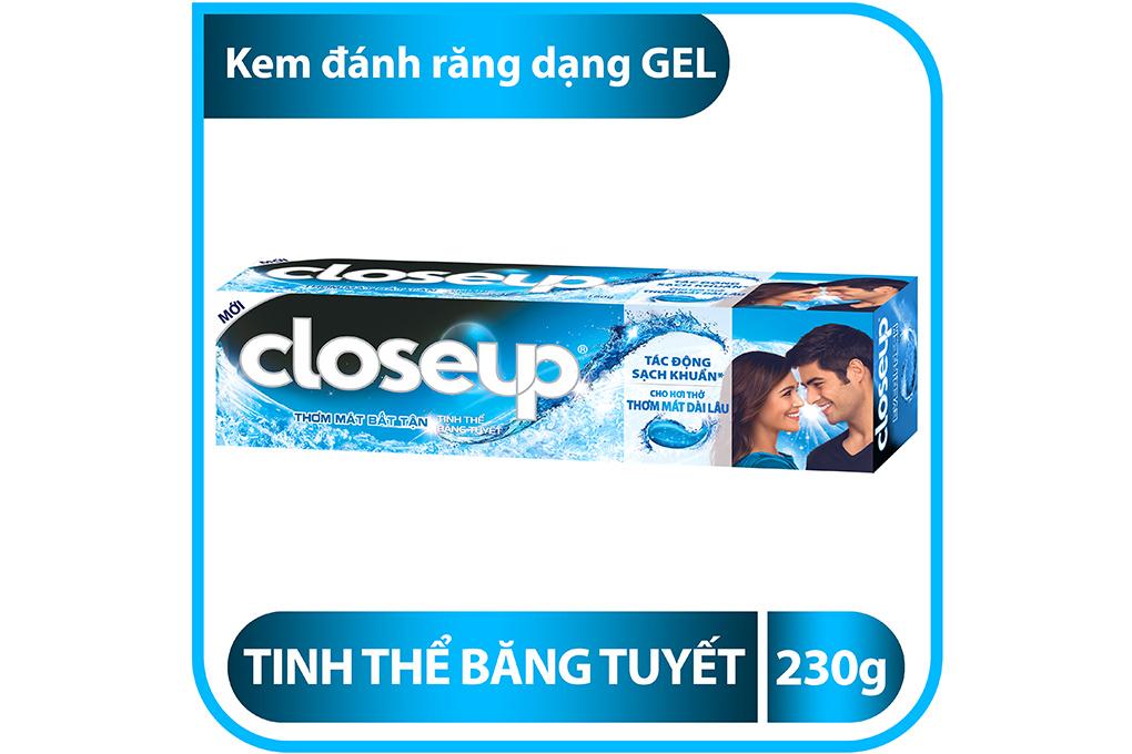 Kem đánh răng CloseUp hương Lộc đề hộp 230g