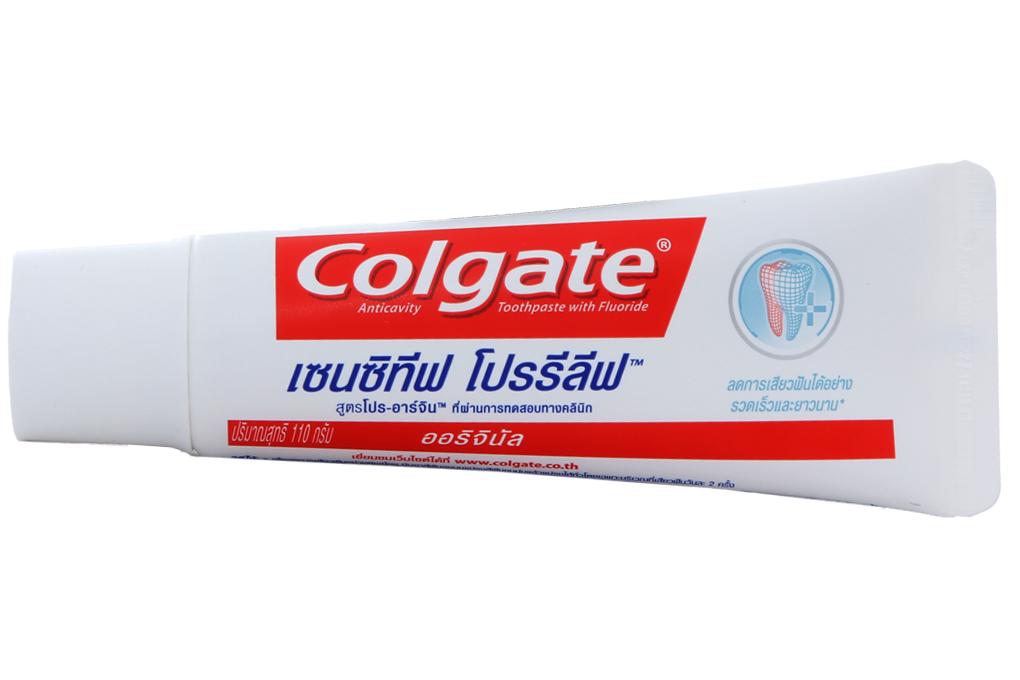 Kem đánh răng Colgate Sensitive Pro Relief hộp 110g