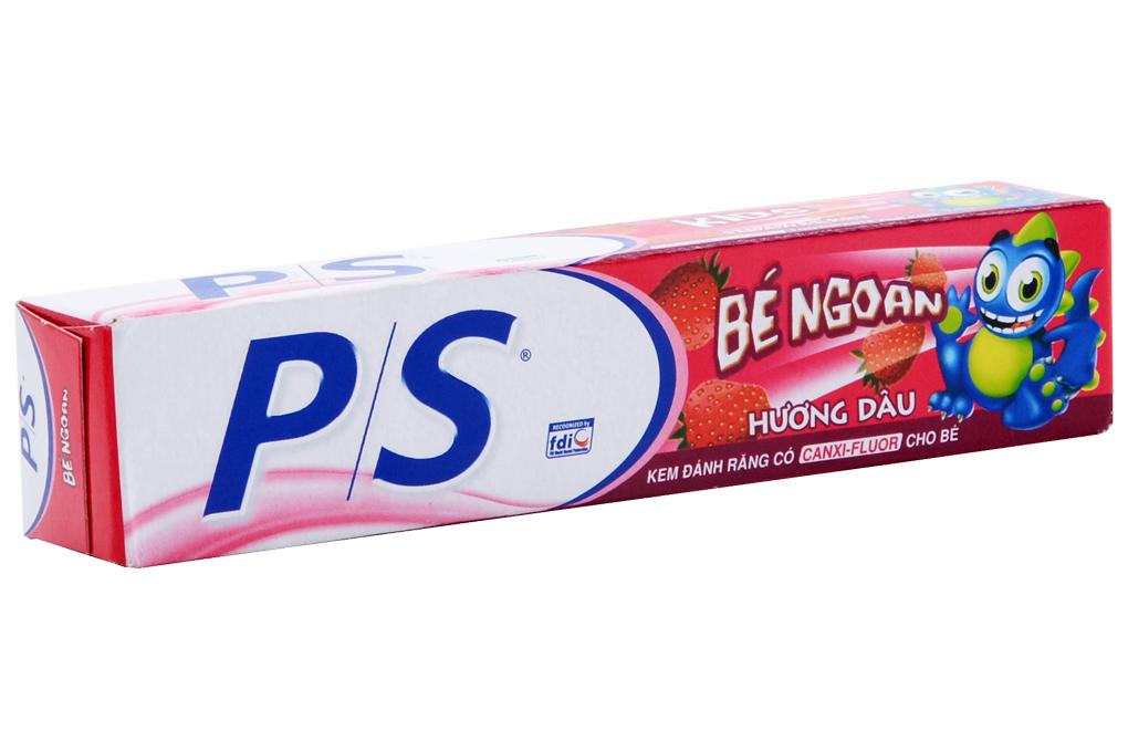 Kem đánh răng trẻ em P/S Kids hương dâu hộp 35g