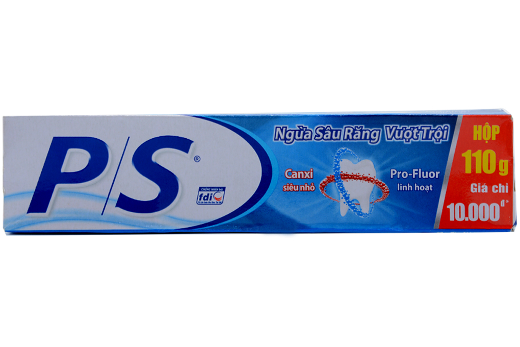 Kem đánh răng P/S ngừa sâu răng vượt trội hộp 110g