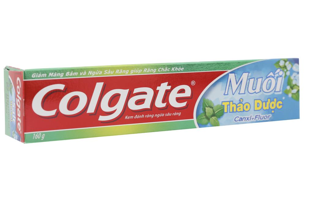 Kem đánh răng Colgate muối thảo dược tuýp 160g
