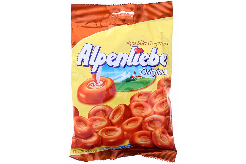 Kẹo sữa Caramen Alpenliebe gói 120g